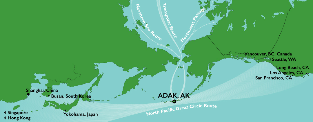 Gateway To The Arctic Port Of Adak Port In Alaska Alaska S